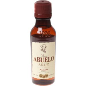 Rum Abuelo Añejo 12 years 40% Vol. 6 x 5cl Panama