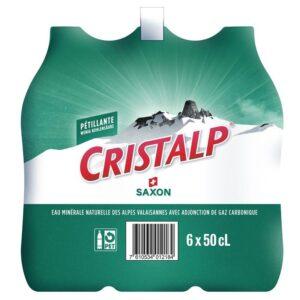 Cristalp mit Kohlensäure 24 x 50 cl PET
