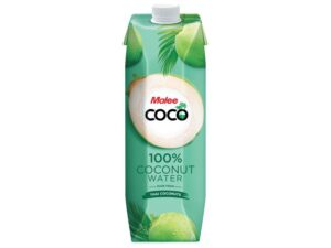 Malee Coconut Water 100% Natural 12 x 100cl Tetra Thailand
