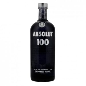 Absolut 100 Vodka 50% Vol. 100cl Schweden