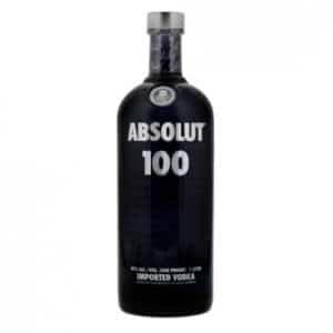 Absolut 100 Vodka 50% Vol. 100cl Schweden