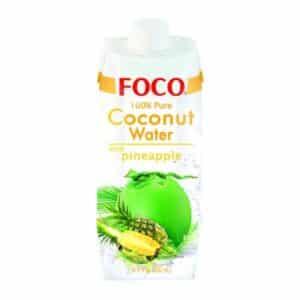 FOCO Pure Coconut Water mit Ananassaft 12 x 50cl Tetra Vietnam