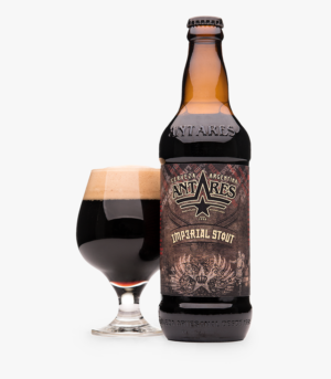 Antares Imperial Stout 8,5% Vol. 24 x 34cl EW Flasche