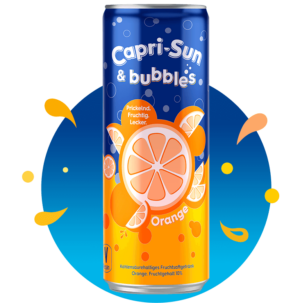 Capri Sonne Bubbles Orange 12 x 33cl Dose