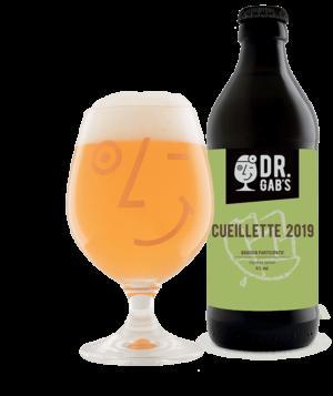 Dr.Gab`s Cueillette 2019 4,0% Vol. 24 x 33 cl EW Flasche