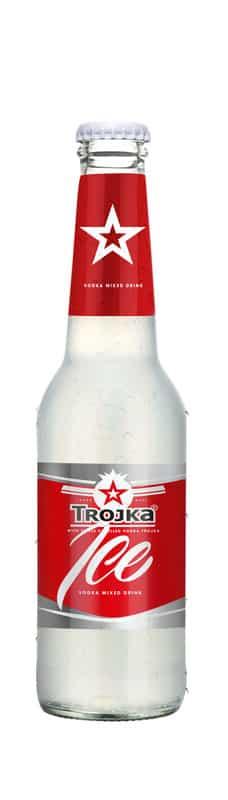 Trojka Ice Vodka Mixed Drink 4% Vol. 24 x 27,5cl MW Flasche