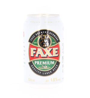 Faxe 5,0% Vol. 24 x 33cl Dose Dänemark