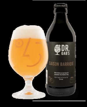 Dr.Gab`s Saison Barrique 6,0% Vol. 24 x 33 cl EW Flasche