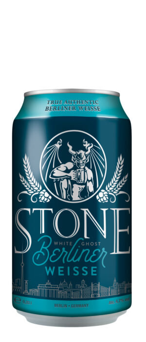 Stone White Ghost Berliner 4,7% Vol. 24 x 33 cl Dose