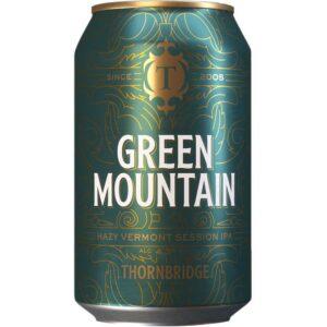 Thornbridge Green Mountain Hazy Session IPA 4,3% 12 x 33 cl Dose