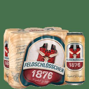 Feldschlösschen 1876 4,8% Vol. 24 x 50cl Dose