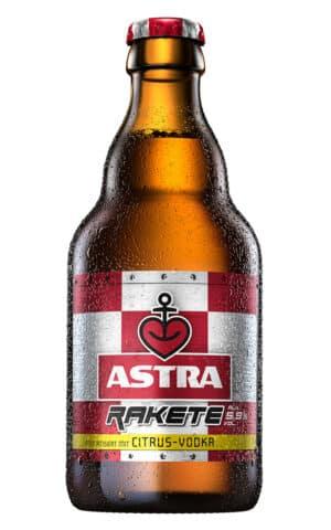 Astra Rakete 5,9% Vol. 24 x 33 cl EW Flasche Deutschland