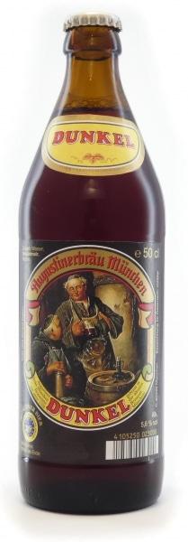 Augustiner Bier Dunkel 5,6% Vol. 20 x 50 cl MW Flasche