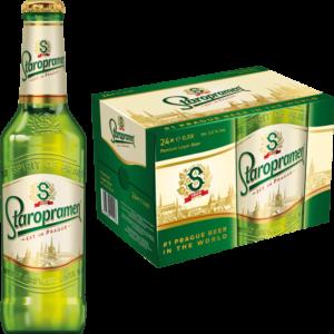 Staropramen Premium 5% Vol. 24 x 33 cl EW Flasche Tschechien