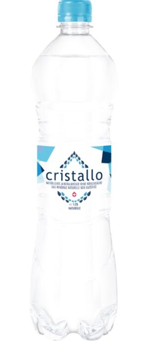 Cristallo Mineral blau ohne Kohlensäure 6 x 100cl PET