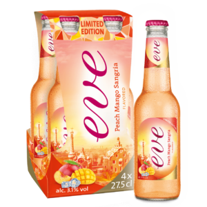 Cardinal Eve Peach Mango Sangria 3,1% Vol. 24 x 27,5 cl EW Flasche