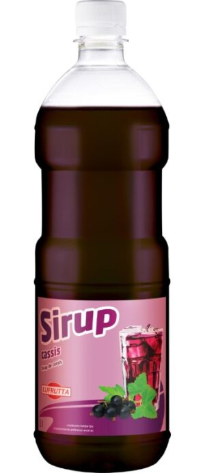 Lufrutta Cassis Sirup 6 x 100 cl PET