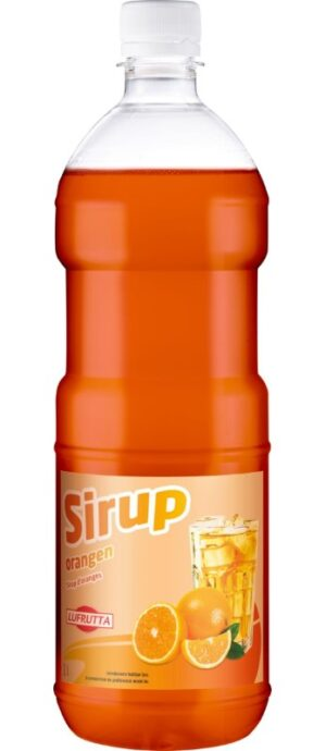 Lufrutta Orange Sirup 6 x 100 cl PET