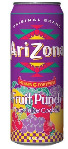 AriZona Fruit Punsch 30 x 34 cl Dosen