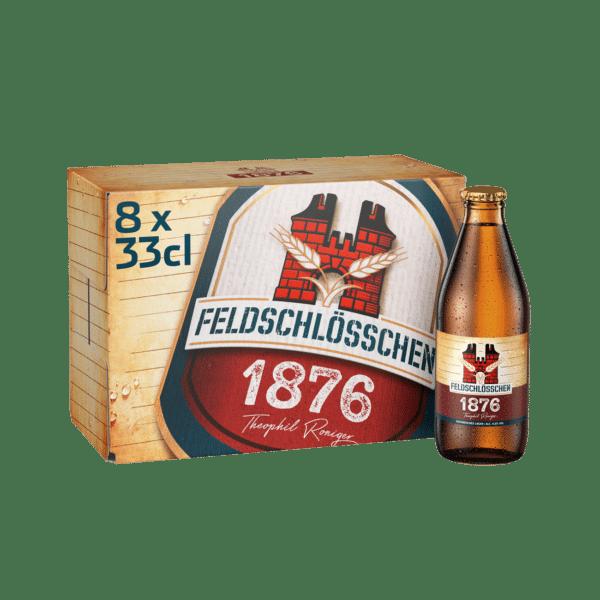 Feldschlösschen 1876 4,8% Vol. 8 x 33 cl EW Flasche