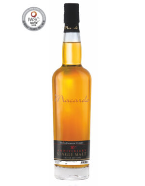 Macardo Whisky Limited Edition 10 th Anniversary 42% Vol. 70 cl Schweiz