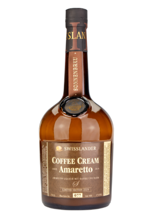 Whisky Amaretto Coffee Cream Swisslander 17% Vol. 70 cl