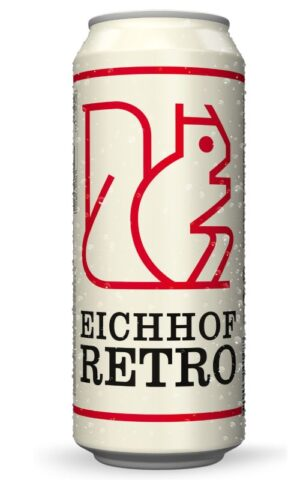 Eichhof Retro 4,8% Vol. 24 x 50cl Dosen