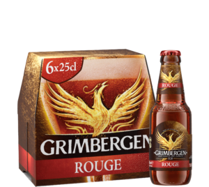 Grimbergen Rouge 6,0% Vol. 24 x 25 cl EW Flasche Belgien