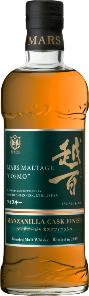 Mars Maltage «Cosmo» Manzanilla Cask Finish Whisky 42,0% Vol. 70 cl Japan