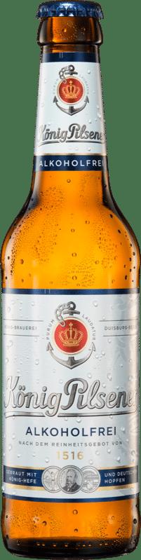 König Ludwig Pilsener alkoholfrei < 0,5 % Vol 24 x 33 cl MW Flasche