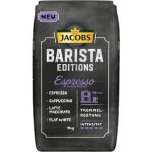 Jacobs Barista Espresso, Bohnen, 4 x 1 kg