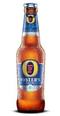 Foster`s Lager 5% Vol. 24 x 33cl EW Flasche