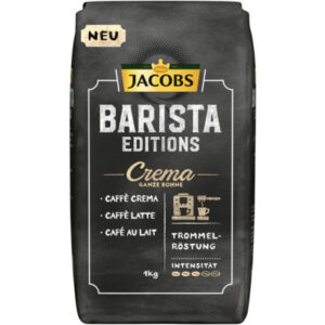Jacobs Barista Crema, Bohnen, 4 x 1 kg