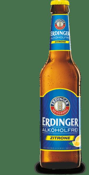Erdinger Zitrone alkoholfrei 24 x 33 cl MW Flasche