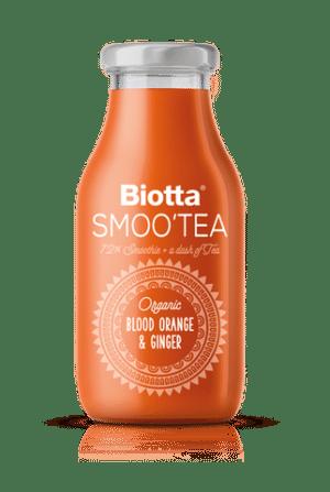 Biotta Smoo`Tea Blutorange & Ingwer 6 x  25 cl EW Glas