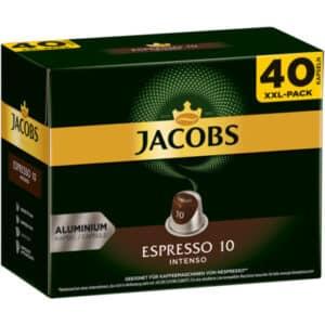 Jacobs Espresso 10 Intenso, 5 x 40 Kapseln