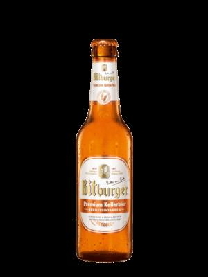 Bitburger Premium Kellerbier 4,9% Vol. 24 x 33 cl MW Flasche