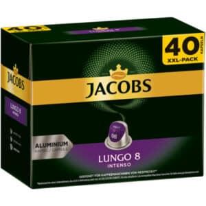 Jacobs Lungo 8 Intenso, 5 x 40 Kapseln