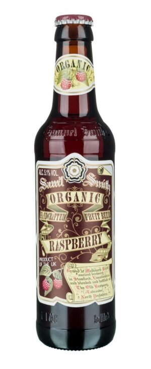 Samuel Smith's Raspberry Beer 5,1% Vo. 24 x 35cl EW Flasche England