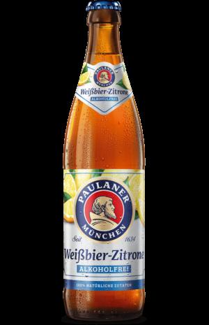 Paulaner Weißbier-Zitrone alkoholfrei 20 x 50 cl MW Flasche