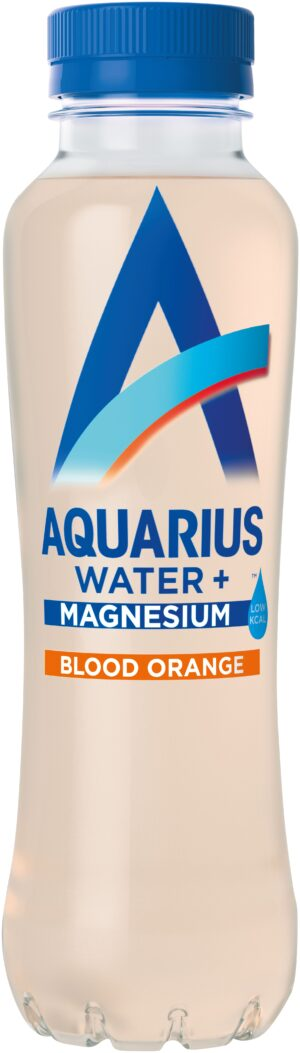 Aquarius Water Magnesium Blood Orange 12 x 40cl