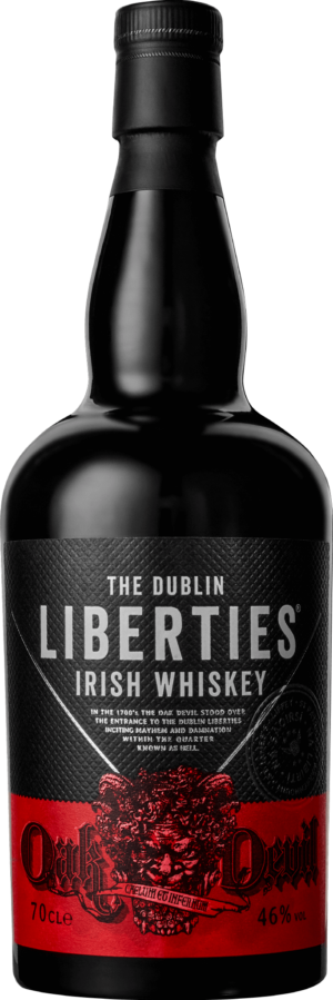 Dublin Liberties Irish Whiskey Oak Devil 46% Vol. 70 cl Irland