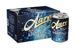 Aare Bier Kellerfrisch 5% Vol. 24 x 33cl Dose