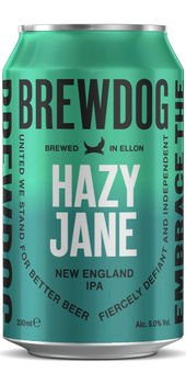 BrewDog Hazy Jane IPA 5,0% Vol. 24 x 33cl Dose Schottland