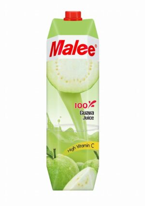 Malee Guava 100% Fruit Juice 12 x 100cl Tetra Thailand