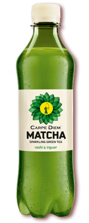 Carpe Diem Matcha Sparkling Green Tea 12 x 50cl PET