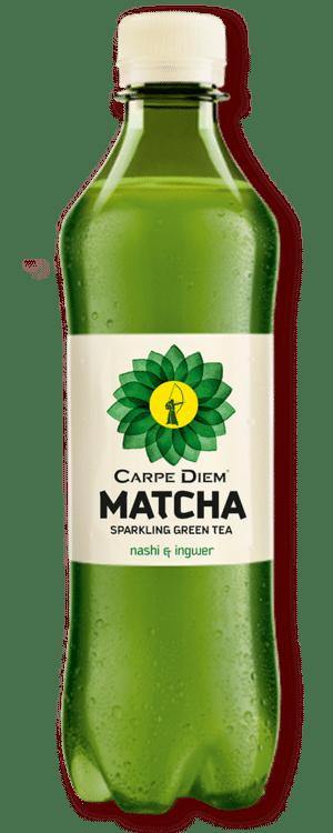 Carpe Diem Matcha Sparkling Green Tea 24 x 50cl PET