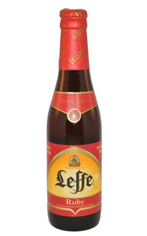 Leffe Ruby Bier 5,0% Vol. 24 x 33cl MW Flasche Belgien