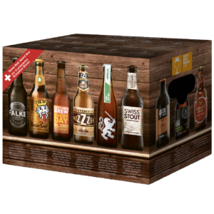 Swiss Beer Award Box 15 x 33cl EW Flasche