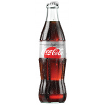 Coca-Cola light 24 x 33 cl MW Flasche